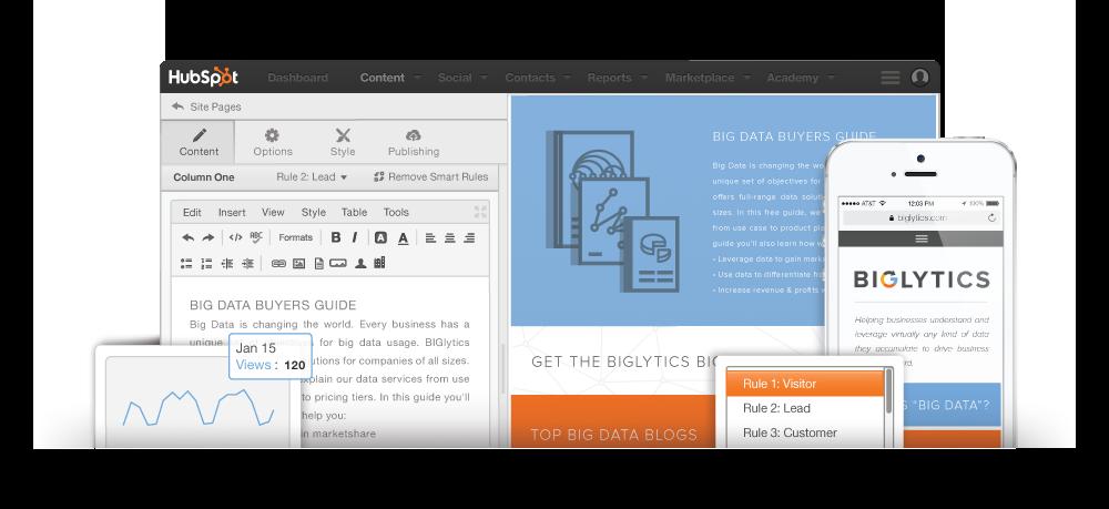 Creare pagine web con hubspot CMS