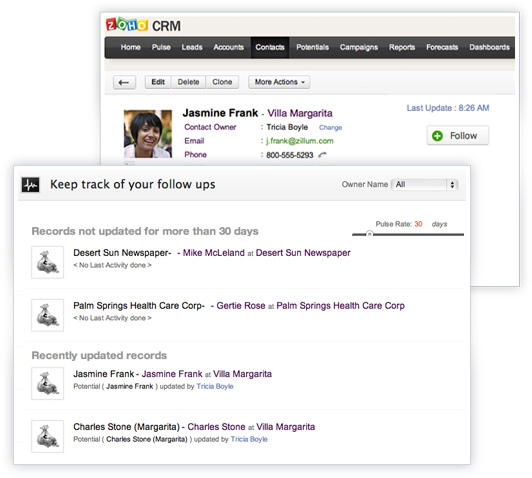 Gestione clienti con Zoho CRM