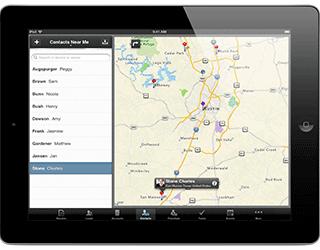 Utilizzo di Zoho CRM tramite iPad