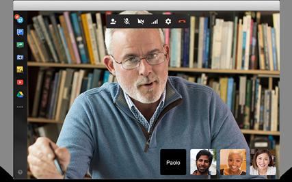 Video chiamate con Google Apps Hangout