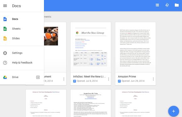 Gestione documenti con Google Drive