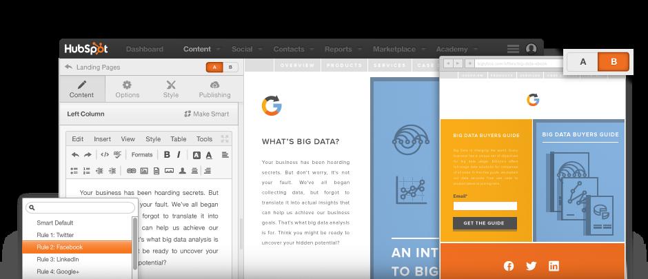 HubSpot-Landing-Pages-convertire-visitatori-contatti