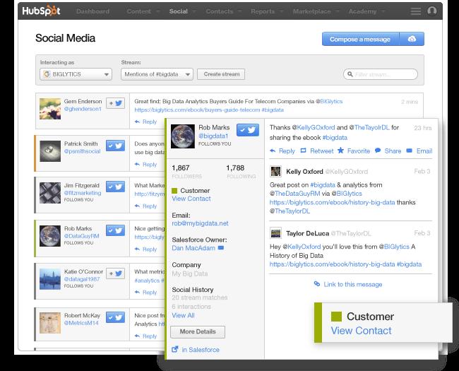 Controllo rapido dei tweet con differenziazione dei colori