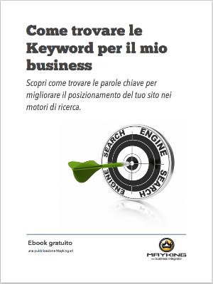 Ebook - Come trovare le keyword per il mio business